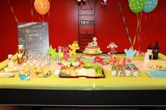 First Birthday with Spot 2 Birthday Cake, Dog Birthday, 1st Birthday Parties, Cake Gallery, First Birthdays, Kid, Cakes, School, Baby