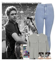 """""""Take picture of Niall from backstage during the show"""" by irish26-1 ❤ liked on Polyvore featuring мода, Topshop, PYRUS, Zara, Accessorize и Ulla Soucasse"""