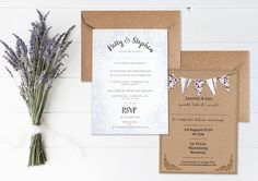 Boho Loves: Cate Darcy Stationery – Shabby Chic and Rustic Boho Inspired Wedding Stationery
