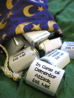Defense Against the Dark Arts - chocolate for Dementor attacks