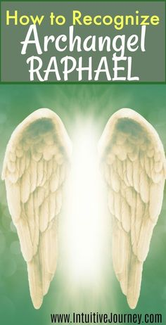 How to recognize when Archangel Raphael is around. Sometimes I think Archangel Raphael is near, but I don't recognize his presence. This tells me what to look for. #archangelraphael #Archangels #Raphael