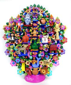 Mexican Art - Tree of LIfe