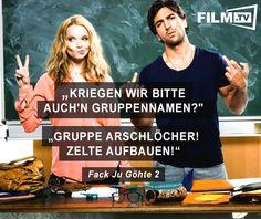 Nur noch der Rest von heute bis zum Wochenende! https://www.film.tv/film/15/fack-ju-goehte-teil-2-32862.html  #filmzitat #fjg #zelten
