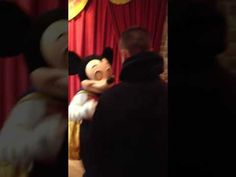 Me Meeting Talking Mickey Mouse