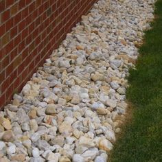 Landscaping Around House Rocks Around Foundation Of Home