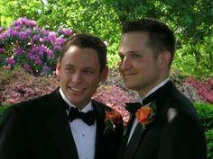 Maryland gay wedding performed by Men in Black