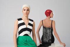 Vestidos de Cristina Piña colección The Swimmer