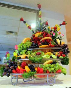 Wedding Reception Food Trays | cutting_parsley fruit platter2 Fruit Platter small