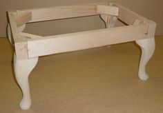 Regent Foot Stool Frame