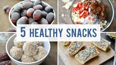 5 Easy and Healthy Snacks to Satisfy Your Sweet Tooth!