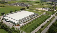Rendering of the future Skybox data center in Katy, Texas.