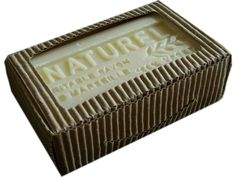 Shea Butter French Soap Natural Soap Made of 75% Oilive Oil and 25% Shea Butter. Made in France