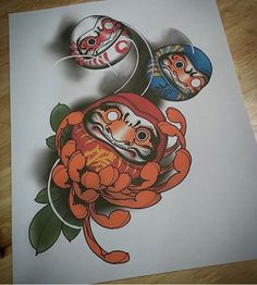 tattoos ink inked neo traditional neotraditional traditional chrysamtemum