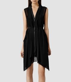 Women's Levia Dress (Black) - If it wasn't so expensive this would be my outfit for New Years Rockn Roll, Fashion Dresses, Women's Dresses, Party Dresses, Fashion Outlet, Latest Fashion For Women, My Outfit, Knit Dress, What To Wear
