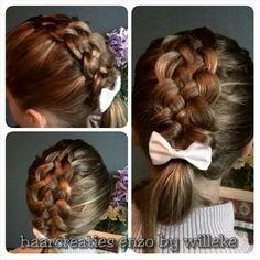 5Strand pancace girls hairstyle