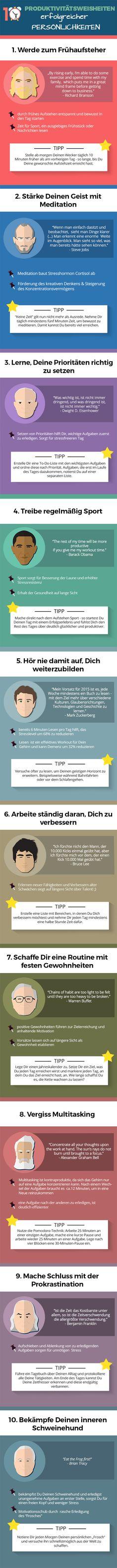 Super #Tipps und #Zitate für die #Produktivität!