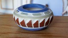 Dollhouse Miniature Southwestern Native American Signed Pottery #1 1:12