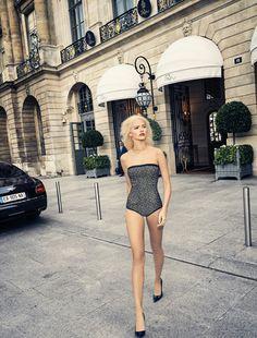 Paris Match's story SS17 with Sasha Luss by Fred Meylan