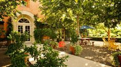 Swanson Vineyards in Rutherford, Napa Valley offers two tasting venues ... the formal Salon and the casual Sip Shoppe. Like teleporting to Provence.