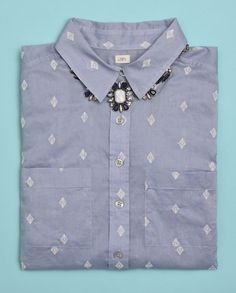 All buttoned up in LOFT