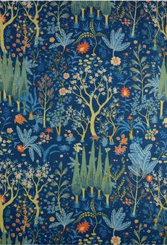 Rustean's Garden Printed cotton, 1973