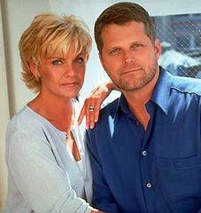 Kim Zimmer (Reva) and Robert Newman (Josh) photo shoot from Guiding Light circa 1997ish.