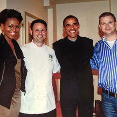 """El """"guiso vasco"""" de un chef irlandés, con restaurante en  Washington, frecuentado por los Obama"""