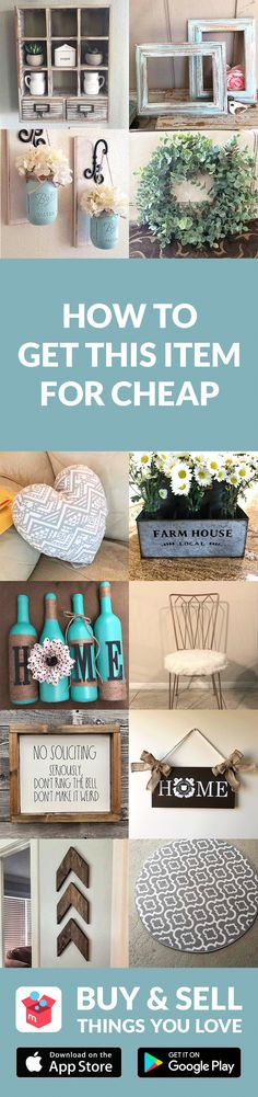 Get home decor items at low prices with Mercari app! Buy and sell new/used items like clothing, brand-name bags, shoes, cosmetics, jewelry, electronics, and more. Turn your old items into cash and find new treasures as well–straight from your mobile phone! Shop confidently with our Buyer Protection Guarantee. What are you waiting for? Start using Mercari today!
