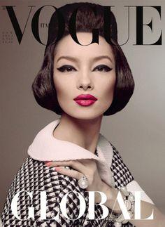 Vogue Italia  Issue: January 2013   Cover Model: Fei Fei Sun |Women Milan|  Photographer: Steven Meisel