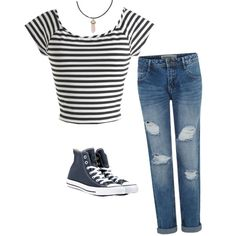 hipster grunge by emma-hawman on Polyvore featuring polyvore fashion style Converse