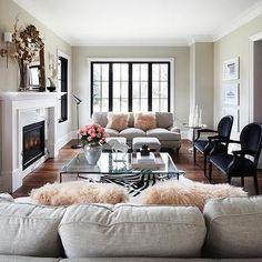Light Grey Sofa, Contemporary, living room, The Design Company