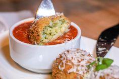 Pesto Arancini Pesto, Arancini, Giada Recipes, Cooking Recipes, Italian Dishes, Italian Recipes, Appetizer Recipes, Appetizers, Risotto Dishes