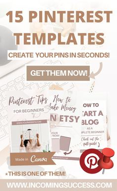 If you are struggling with Creating Fresh Pins every Day to Grow on Pinterest and Manage to Get Website or Blog Traffic every Day because of Unique Pin Clicks - these Templates will help you!  You will save hours from your time of trying to come up with Pin Designs and Drag & Drop the text & elements, while Branding the Pins for your Business!  Check them out now and Create Fresh Pins Daily without any effort!  #pintemplates #pinteresttemplates #pinterestgraphics #pingraphics #pinscanva… Social Media Marketing Business, Guerilla Marketing, Content Marketing Strategy, Online Entrepreneur, Pinterest For Business, Pinterest Marketing, Business Tips, Online Business, Branding
