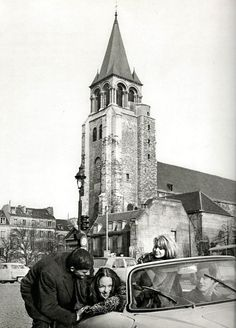 Saint-Germain des Prés Paris circa 1950 Patrice Molinard