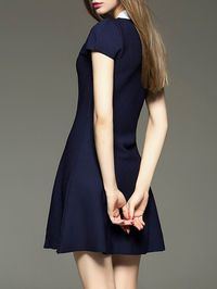 Ruffled Silk-blend Mini Dress