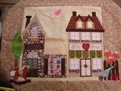 Hooley Dooley Village Patch Quilt - Toy and Bric a Brac Shops