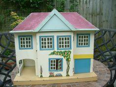 "Vintage Triang dolls house ""BE"" original metal windows"