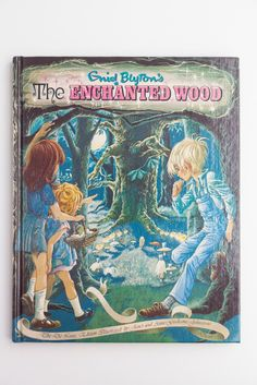 The Enchanted Wood by Enid Blyton, Deluxe Illustrated Edition, Vintage Book 1979 by PenelopeCatVintage on Etsy