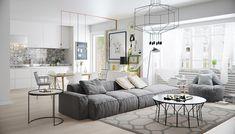 Soggiorni moderni • 100 idee e stile per il soggiorno ideale | Cuisines