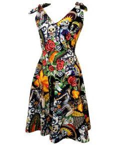 Women's Day of the Dead Dress