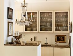 a perfect gray: great small kitchen...
