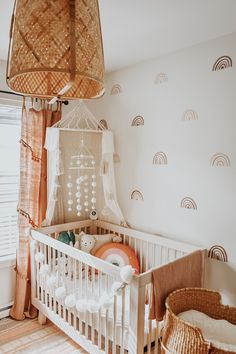 Rainbows a classic favorite from childhood Updated for adult appeal our Mini Ombre Rainbows feature subdued colors in nude tan mustard burgundy and blue Boho Nursery, Baby Nursery Decor, Baby Bedroom, Nursery Neutral, Nursery Room, Girl Nursery, Nursery Ideas, Project Nursery, Room Ideas