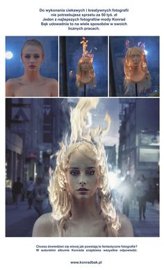 Photo transformation from simple foto to top comercial art