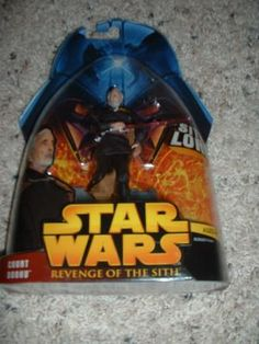 Star wars return of the sith COUNT DOOKU moc