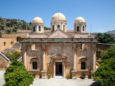 Agia Triada, is a church that it has been built in the century. Our Town, Crete, Beautiful Islands, 17th Century, Venetian, Museums, Attraction, Taj Mahal, Old Things