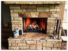 Peterson Northern Oak Gas Logs. Chattanooga, Tn. Hearth And Patio, Fireplace Logs, Gas Logs, Southern, Photo And Video, Home Decor, Home, Decoration Home, Room Decor