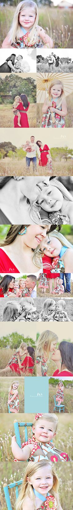 Adorable family session, cute little girls!