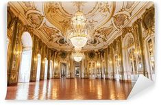 The Ballroom of Queluz National Palace. In the municipality of Sintra, Lisbon di ,