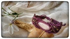 Hey, I found this really awesome Etsy listing at https://www.etsy.com/il-en/listing/271027421/purple-macrame-bracelet-pink-gemstone