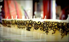 Assembly line by Joy of Henna, via Flickr